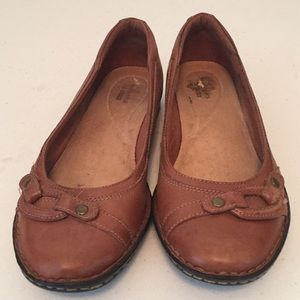 Clarks casual slip on shoes